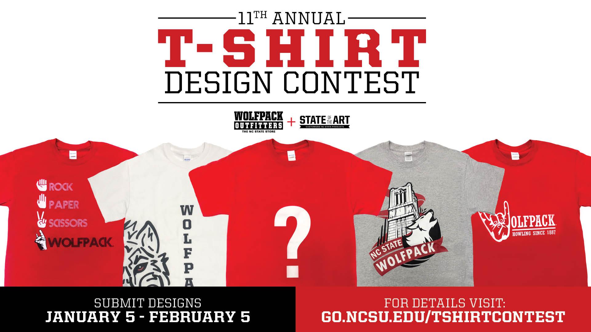 2019 T Shirt Design Contest Wilson College Of Textiles